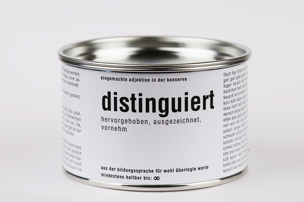 distinguiert